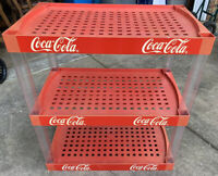 "Coca-Cola,Coke ""The Showoff"" Store Shelf, 3 Shelves, Hard Plastic, 31""x18.5""x34"""