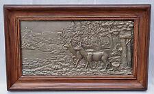 Antiquitäten & Kunst Antike Bronze Relief Kohlegrube Bronze