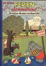 Die lustigen Abenteuer von Jumbo & Dixi Sammelband Nr.2 von 1969 - COMIC-RARITÄT