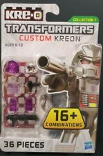 MEGATRON NEW TRANSFORMERS NEW KRE-O DECEPTICON CUSTOM KREON BEST COLLECTION TOY