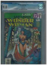Wonder Woman 175  Joker!  Superman!  Batman!  CGC 9.0   white pages! 2001