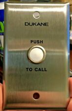 New listing 1-Lot 8 devices in Bulk Pack, Dukane 9a1765 Push Button Switch for Intercom Etc.