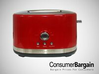 KitchenAid KMT2116ER 2-Slice Extra-Wide Slot Toaster with Manual High Lift Lever