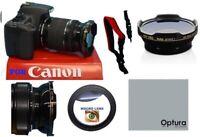 VIVITAR SER1 PRO WIDE ANGLE LENS + MACRO FOR CANON EOS REBEL T5 T6 T7 80D 6D XT