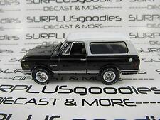 Johnny Lightning 1/64 Scale LOOSE Black WhiteTop 1969 CHEVROLET Chevy BLAZER 4X4