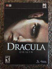 Dracula Origin 3D Bram Stoker - PC XP/Vista