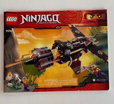 LEGO NEW Ninjago 70747 Boulder Blaster INSTRUCTIONS Lot Book Jet