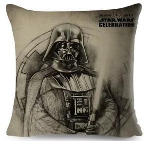 Star Wars Kissenbezug Darth Vader  45 x 45 cm Leine Deko Kissen