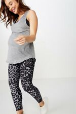 Cotton On Body Womens Maternity Training Tank Top  In  Grey