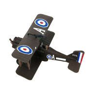 1/72 Scale WWI SE 5a Dual Wing Diecast Fighter Aircraft Airplane Plane Model