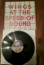 """Wings vinyl record """"At the speed of sound""""Capitol records,1976."""