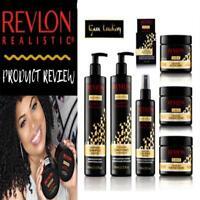 REVLON Realistic Black Seed Oil Designed For Natural Hair Full Range UK