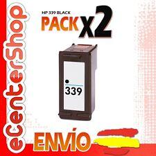 2 Cartuchos Tinta Negra / Negro HP 339 Reman HP Officejet 7210