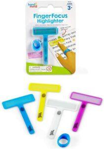 Learning Resources Fingerfocus Textmarker - Kinder Lesen Finger Tracker