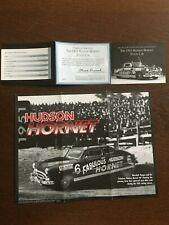 "Franklin Mint ""1951 Hudson Hornet Stock Car"" - Documents ONLY - NO CAR!"