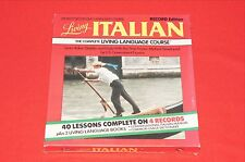 Living Italian Language Course on 4 Record Albums Brand New Sealed