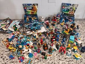 Lego Dimensions 70+ Figures HUGE Lot with Base And Manuals | Scooby Doo +more