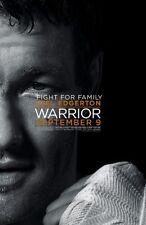 Warrior Movie Poster 24x36