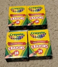 Crayola 24 Count Non Toxic 52-3024 New In Box Lot Of four (4)