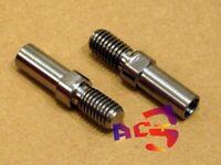 2 pcs Titanium / Ti Bolts M8 V-Brake Bosses / Post -  Weight 11 grams