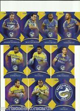 2016 NRL TRADERS PARALLEL PARRAMATTA EELS TEAM SET 10 CARDS