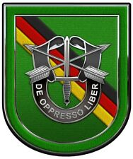"""10th Special Forces Group Europe All Metal Sign  Large 15 x 18"""""""