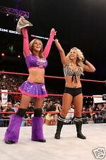 Velvet Sky TNA Knockouts Ringside Win Photo #1 WWE Divas