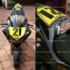 trackday or race numberplate set fits 2008 2009 2010 2011 2012 2013 yamaha R1