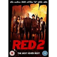 Red 2 (DVD, 2013) New Sealed Free Post