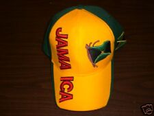 UniPro Green~Black~Red~Yellow Jamaica Hat NEW