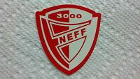 "NEFF, Neff Sticker, SPACE 3000 ODYSSEY, Very Cool, VERY RARE!, 2"" X 2"""