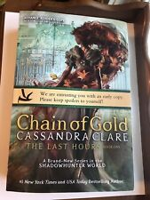 Chains Of Gold,Cassandra Clare,Advance Readers Copy,Shiny Cloth Cover Bag Pouch