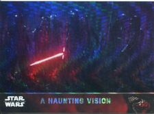Star Wars Force Awakens Chrome Prism Refractor Base Card #54 A Haunting Vision