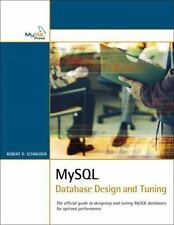 MySql Database Design and Tuning (Developer's Library)-ExLibrary