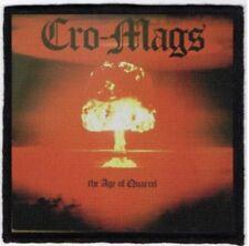 Cro Mags Age Of Quarrel Printed Patch C023P Agnostic Front Warzone Leeway Burn