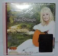 NEW! Pure & Simple by Dolly Parton (CD, 2016) 2 Bonus songs/48-Page Book/Magnet!