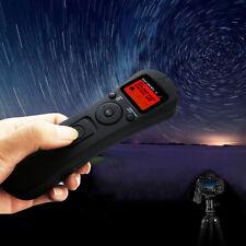 Para Canon 5D 7D 1D 1DS 1DX 6D 50D Disparador Temporizador de control remoto inalámbrico