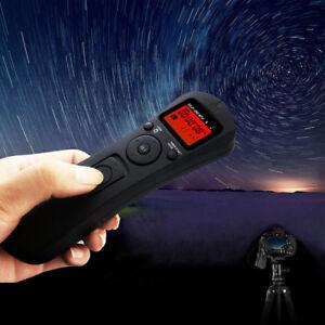For Canon 5D 7D 1D 1DS 1DX 6D 50D Wireless Remote Control Timer Shutter Release