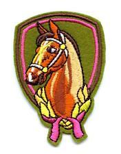 Pferd Aufnäher Patch Horse Pferde Reitsport Reiten