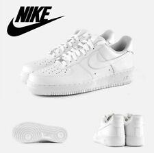 NIKE Air Force 1 Blancas zapatillas  Hombres Mujeres  Deportivas 2020