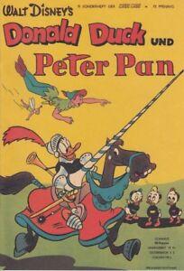 Micky Maus Sonderheft Nr. 9: Donald Duck und Peter Pan (1952)
