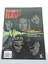 Wwf Raw Wrestling Magazine September 1999 Double Sided D-Generation X Poster