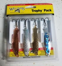 FISHING LURES WILLIAMS TROPHY PACK