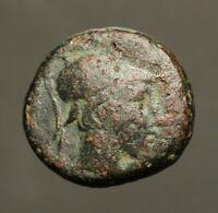 G47-02 Amisos, Pontos.  Circa 100-85 BC  Mithradates VI.  Shows Ares, god of war