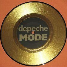 """DEPECHE MODE - INTERVIEW 1983 Limited 7"""" Gold Disc Vinyl UK Live Bild ULTRA RARE"""