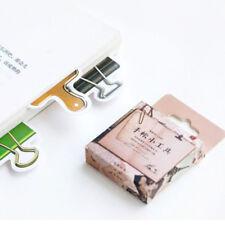 Novelty 45Pcs/box Gadgets Multifunction Binder Clip Shape Stationery Sticker