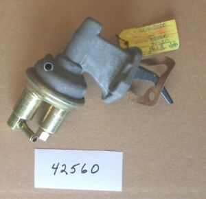 New vintage Pierce fuel pump #42560, 42442 1984-1994 Jeep 2.5L Cherokee Wagoneer