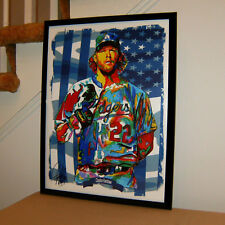 Clayton Kershaw Los Angeles Dodgers Baseball Sports Poster Print Wall Art 18x24
