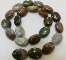 """HOT! New 10X14mm India Multicolor Agate Onyx Egg Loose Beads Gemstones 15"""" AAA+"""