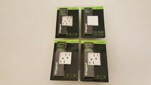 Legrand Adorne 3-15 amp tamper resistant outlet + 1 15 amp paddle switch